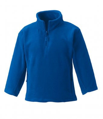 Jerzees Schoolgear 874b - Zip Neck Outdoor Fleece Wizard Printers