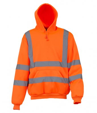 Yoko YK031 - High Visibility Pull Over Hoodie Wizard Printers