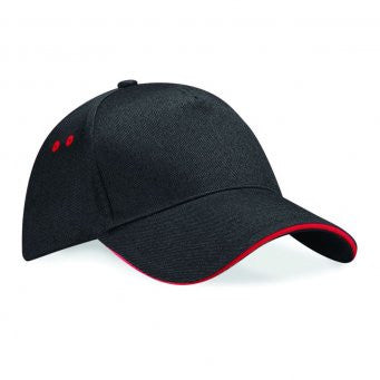 Beechfield BB15C - Ultimate 5 Panel Cap - Sandwich Peak Wizard Printers