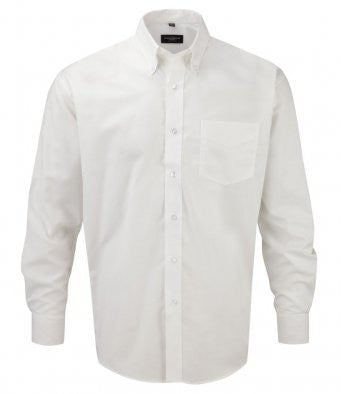 Russell 932M - Long Sleeve Easy Care Oxford Shirt Wizard Printers
