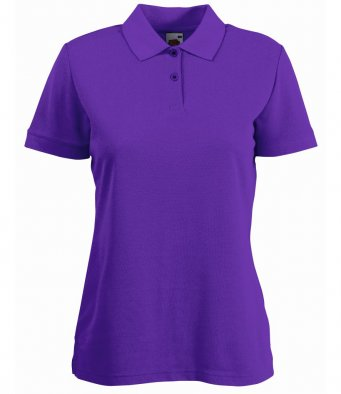 Lady Fit Pique Polo Shirt - SS86