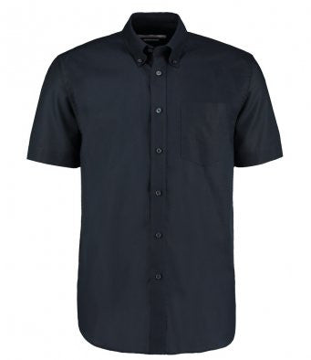 Wizard Printers Dougfield Short Sleeve Workwear Oxford Shirt - K350 Wizard Printers