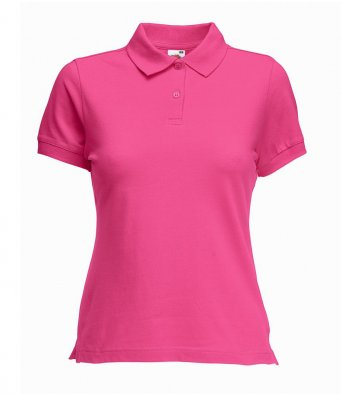 SS75 - Fruit of the Loom Lady Fit Cotton Pique Polo Shirt