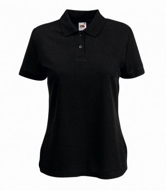Fruit of the Loom SS86 - Ladies Fit Pique Polo Shirt Wizard Printers
