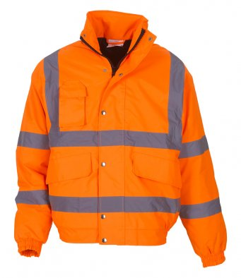 Yoko YK200 - High Visibility Classic Bomber Jacket Wizard Printers
