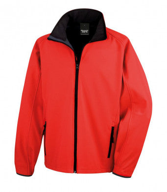 RS231M - Core Printable Soft Shell Jacket