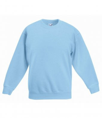 Fruit of the Loom SSE9B - Kids Premium Drop Shoulder Sweatshirt Wizard Printers
