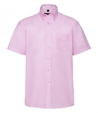 Russell 933M - Short Sleeve Easy Care Oxford Shirt Wizard Printers