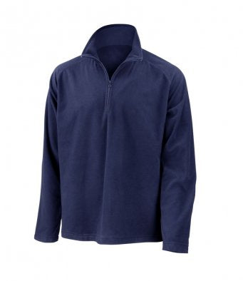 Result RS112 - Result Core Zip Neck Micro Fleece Wizard Printers