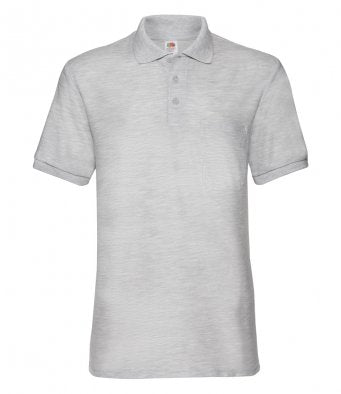 Fruit of the Loom SS23 - Pocket Pique Polo Shirt Wizard Printers