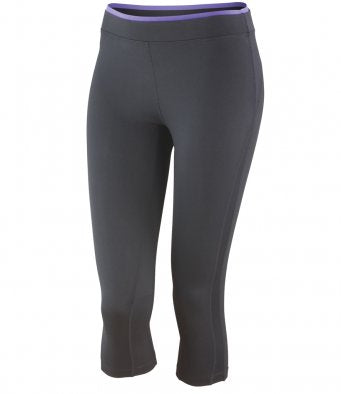 Spiro Ladies Fitness Capri Pants - SR273F
