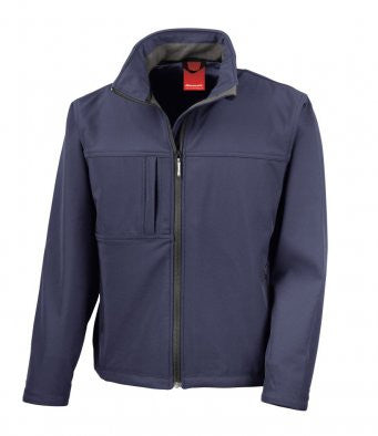 R121M - Result Mens Classic Softshell Jacket | Wizard Printers £29.99