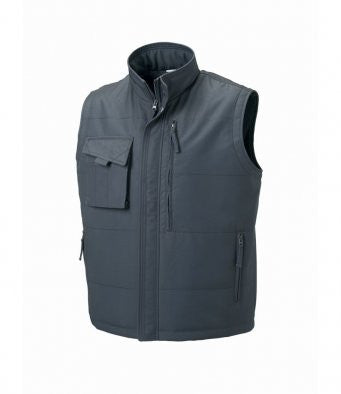 Convoy Grey - Russell 014M - Gilet for Professional Businesses Wizard Printers