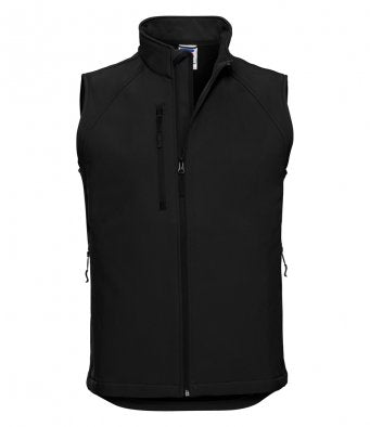 Russel 141M - Soft Shell Gilet Wizard Printers
