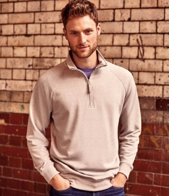 282M - HD Zip Neck Sweatshirt
