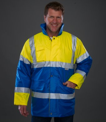 Yoko YK205 - High Visibility Contrast Jacket Wizard Printers