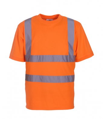High Visibility Short Sleeve T-Shirt - YK010 Wizard Printers