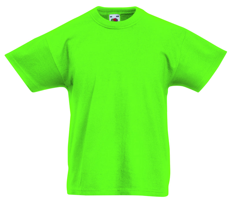 Fruit of the Loom SS12B - Kids T Shirt Wizard Printers