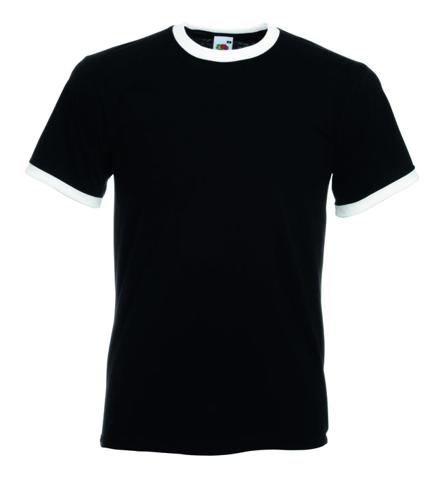 Contrast Ringer T Shirt - SS34 Wizard Printers