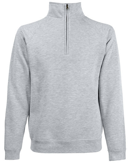 Fruit of the Loom SS17 - Classic Zip Neck Sweatshirt Wizard Printers