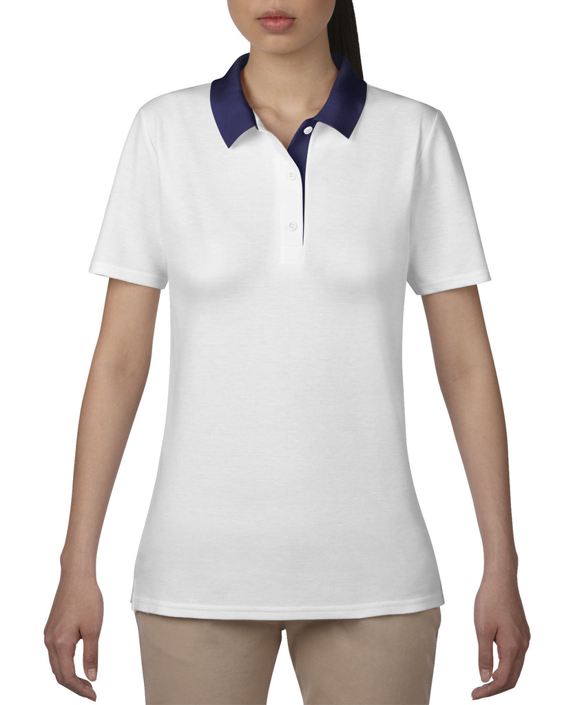 AV6280L - Anvil Ladies Double Pique Polo Shirt - Wizard Printers - 2