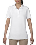 AV6280L - Anvil Ladies Double Pique Polo Shirt - Wizard Printers - 3