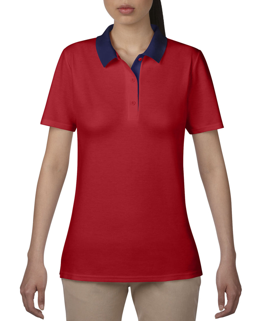 AV6280L - Anvil Ladies Double Pique Polo Shirt - Wizard Printers - 5