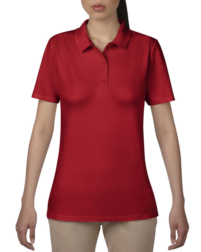 AV6280L - Anvil Ladies Double Pique Polo Shirt - Wizard Printers - 6