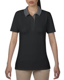 AV6280L - Anvil Ladies Double Pique Polo Shirt - Wizard Printers - 11