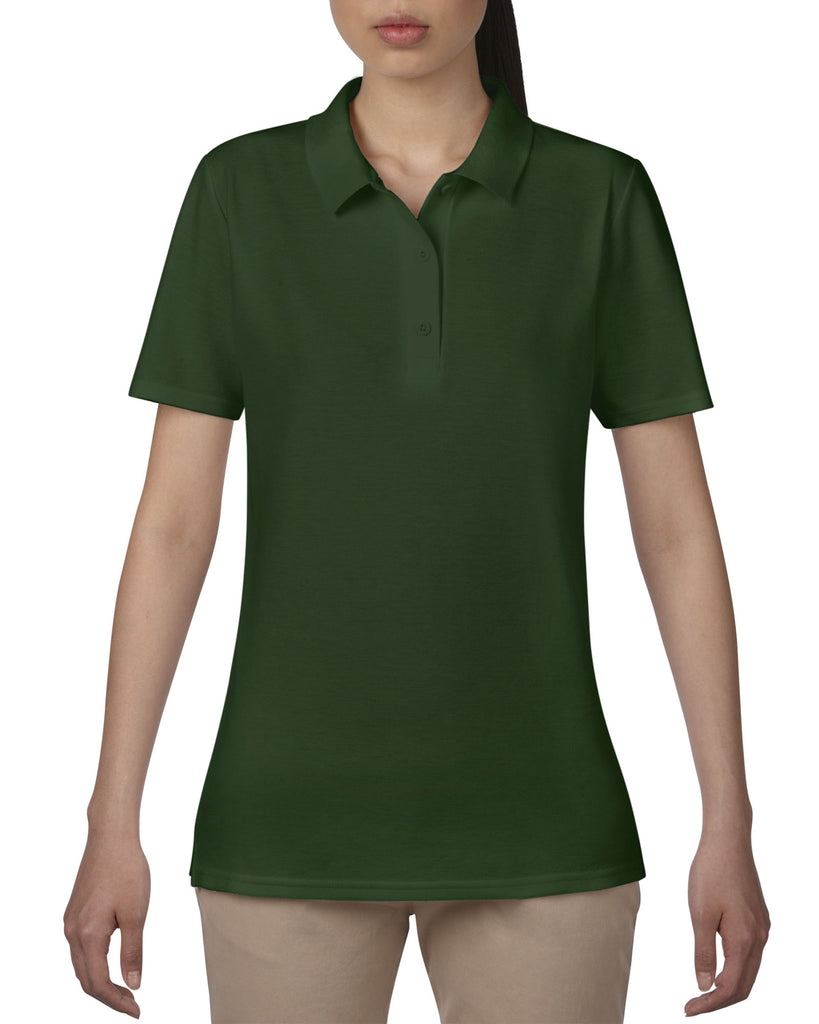 AV6280L - Anvil Ladies Double Pique Polo Shirt - Wizard Printers - 16