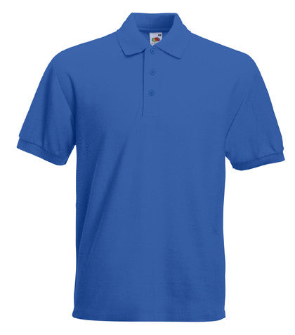 Fruit of the Loom SS27 - Heavy Poly/Cotton Polo Shirt Wizard Printers