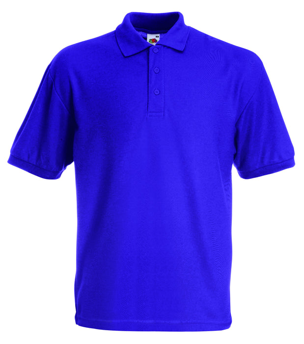Fruit of the Loom SS11 - Pique Polo Shirt Poly Cotton Wizard Printers
