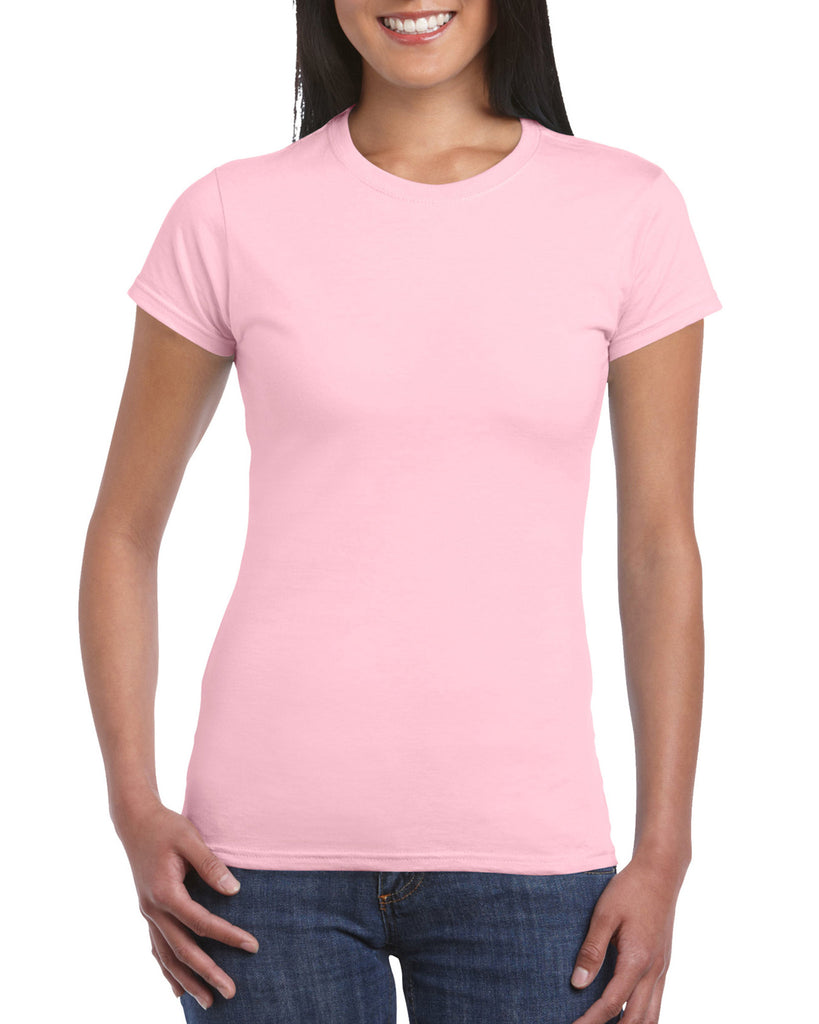 GD72 - Gildan SoftStyle Ladies Fitted Ringspun T-Shirt - Wizard Printers - 18