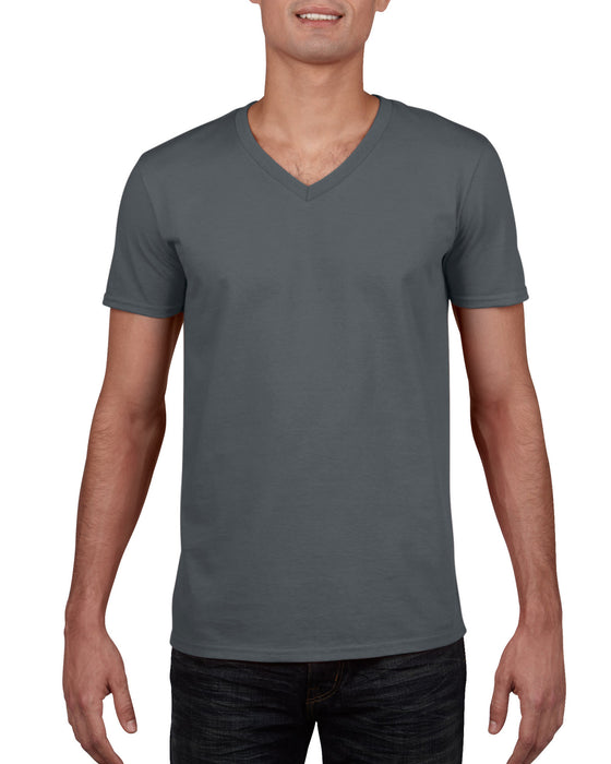 Gildan GD10 - SoftStyle V Neck T Shirt Wizard Printers