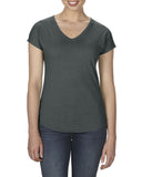AV6750VL Anvil Womens Tri-Blend V-Neck T-Shirt - Wizard Printers - 6