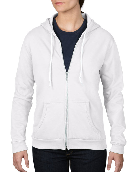 Anvil AV521F - Ladies Full Zip Hooded Sweatshirt Wizard Printers