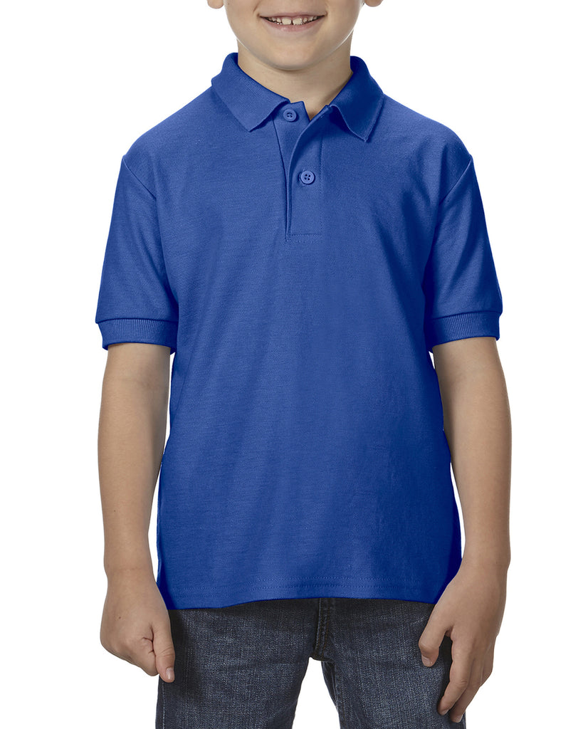 Kids DryBlend Polo Shirt - GD42B Wizard Printers