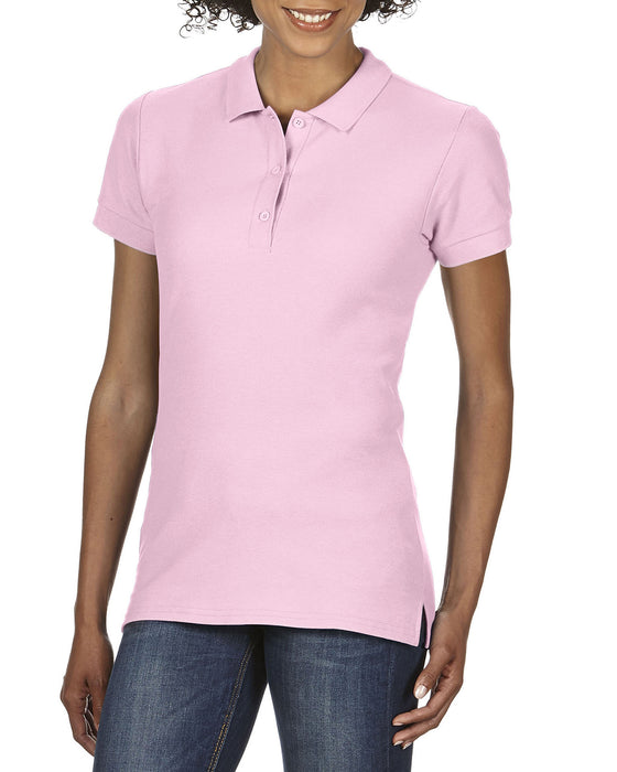 Gildan GD73 - Ladies Premium Cotton Polo Shirt Wizard Printers