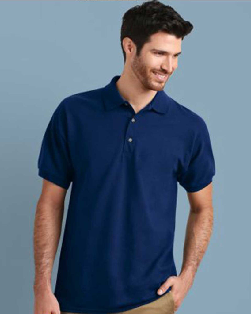 GD38 - Gildan Ultra Cotton Pique Polo Shirt - Wizard Printers - Navy