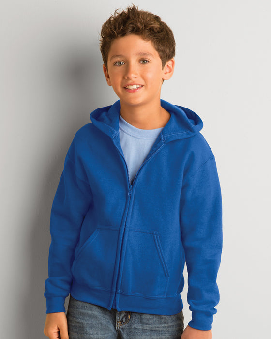 Gildan GD58B - Kids Zipped Hooded Sweatshirt Wizard Printers