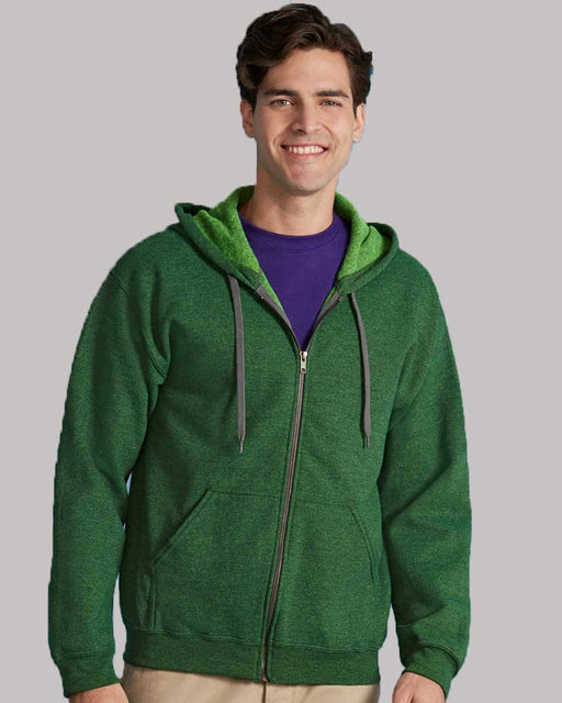 Gildan GD59 - Heavy Blend Zip Hooded Sweatshirt Wizard Printers