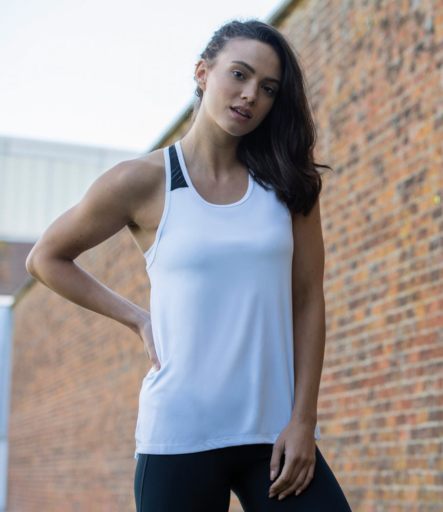 JC027 - Girlie Smooth Workout Vest