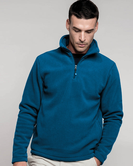 KB912 - Enzo Zip Neck Micro Fleece