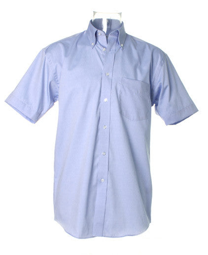 Kustom Kit K109 - Short Sleeve Corporate Oxford Shirt Wizard Printers