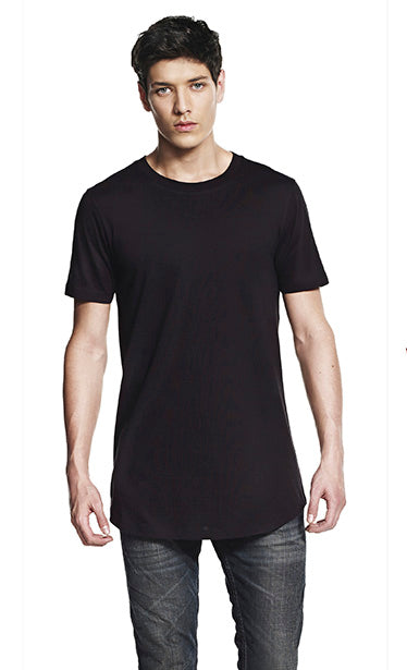 Continental Fashion Long Line T-Shirt - N07 Wizard Printers