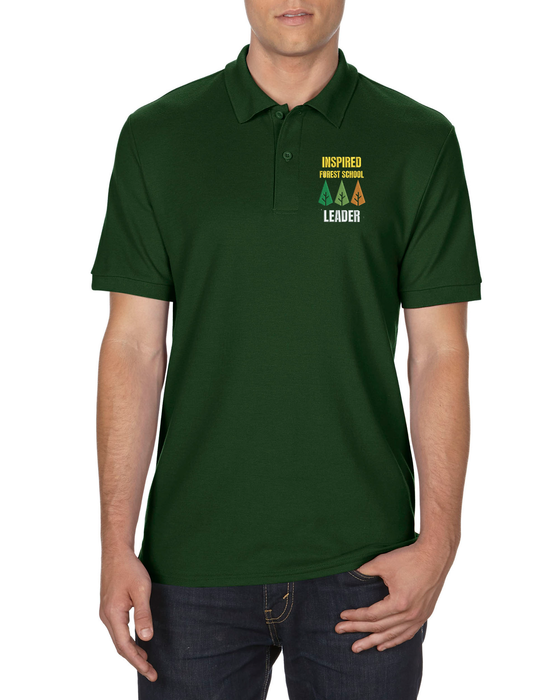 Wizard Printers DryBlend Polo Shirt - GD42 - Inspired Forest - Branded Wizard Printers