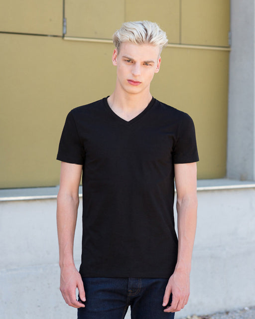 SF122 - V Neck Stretch T Shirt