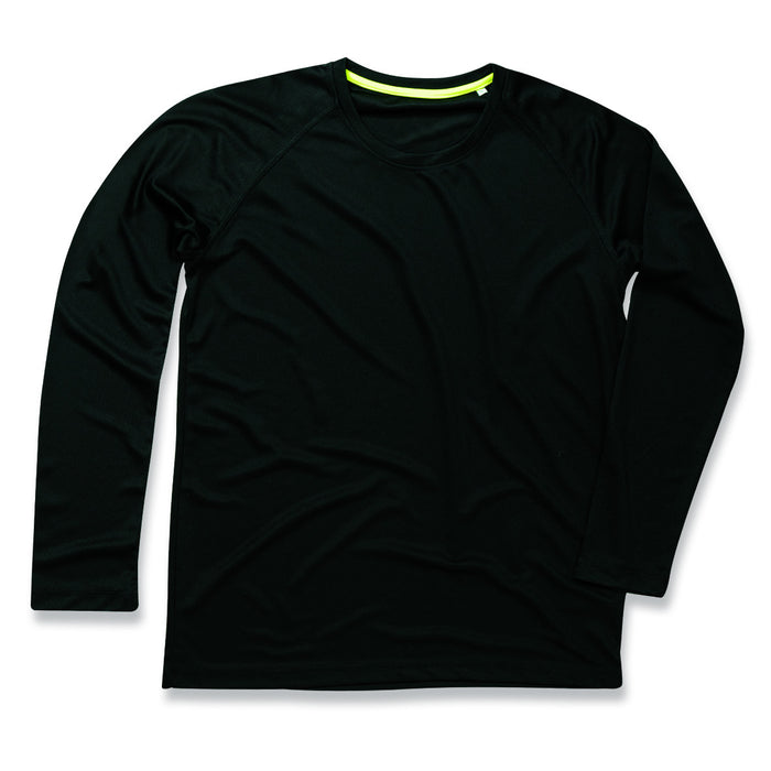 Active By Stedman Mens 140 Long Sleeve T-Shirt - ST8420 Wizard Printers