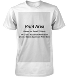 100 T Shirts Deal Screen Printed - Premium Wizard Printers