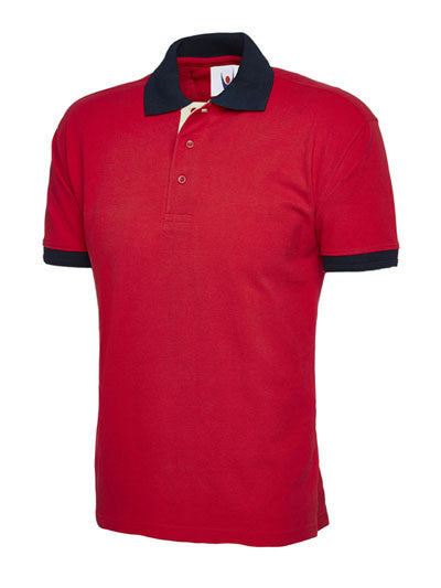 Uneek UC107 - Contrast Polo Shirt Wizard Printers